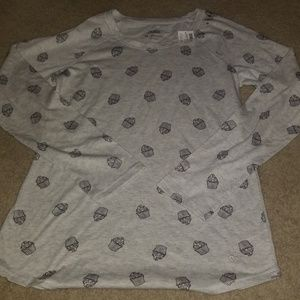 Brand New w/tag Girls Justice long sleeve size 18